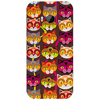 Garmor Designer Silicone Back Cover For Htc One M8 Mini 786974259575