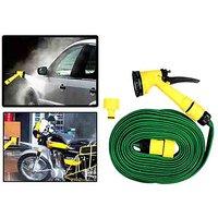 Moko - Spray Gun WIT 10M Water Hose Water Tube Garden Hose Car/Bike Water Wash Pet Wash