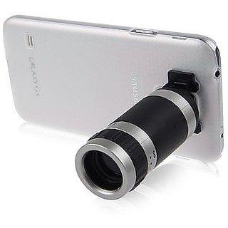 Tech Gear 8X Zoom Phone Telescope Camera Lens Back Case For Samsung Galaxy