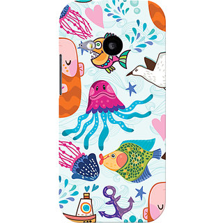 Garmor Designer Silicone Back Cover For Htc One M8 Mini 6016045796642