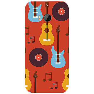 Garmor Designer Silicone Back Cover For Htc One M8 Mini 786974260397