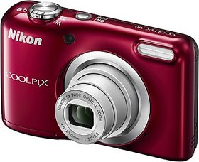 Nikon Coolpix A10 Point  Shoot Camera(Red)
