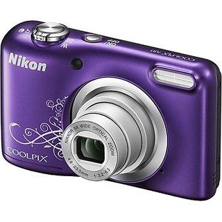 Nikon Coolpix A10 Point Shoot Camera(Purple)