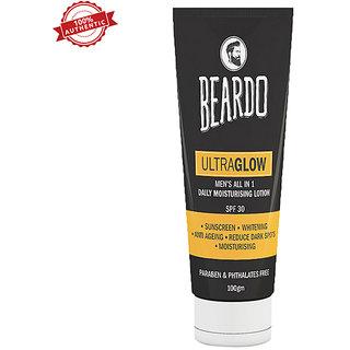 Beardo Ultraglow All In 1 Spf 30 Daily Moisturising Lotion 100 Gms
