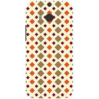 Garmor Designer Silicone Back Cover For Htc One M8 786974255386