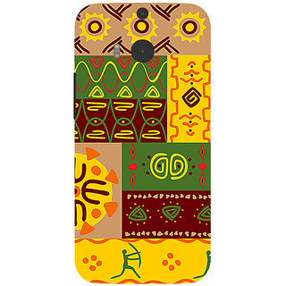 Garmor Designer Silicone Back Cover For Htc One M8 786974255447