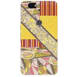 Garmor Designer Silicone Back Cover For Huawei Nexus 6P 14276041995