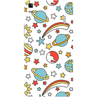 Garmor Designer Silicone Back Cover For Lenovo A7000 786974276107