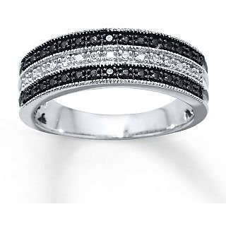 RM Jewellers CZ 92.5 Sterling Silver American Diamond Glorious Stylish Ring For Women
