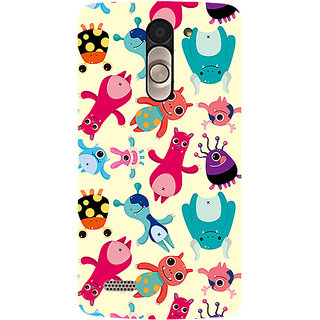 Garmor Designer Silicone Back Cover For Lg L Bello D335 786974282085