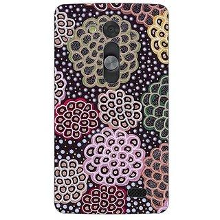 Garmor Designer Silicone Back Cover For Lg L Fino 608974312053