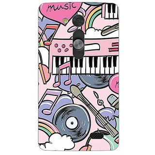 Garmor Designer Silicone Back Cover For Lg L Fino 38109426131