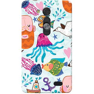 Garmor Designer Silicone Back Cover For Lg L Fino 6016045796741