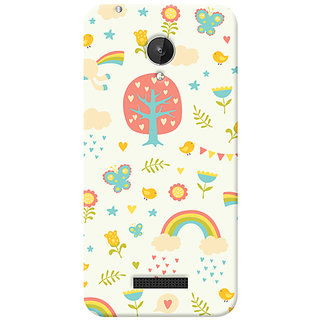 Garmor Designer Silicone Back Cover For Micromax Canvas Spark Q380 6016045800851