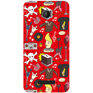 Garmor Designer Silicone Back Cover For Micromax Canvas Spark Q380 786974287127