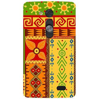 Garmor Designer Silicone Back Cover For Lg L Fino 786974285666