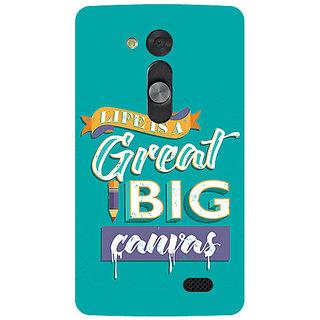 Garmor Designer Silicone Back Cover For Lg L Fino 786974286151