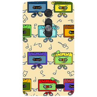Garmor Designer Silicone Back Cover For Lg L Fino 786974284089