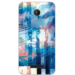 Garmor Designer Silicone Back Cover For Micromax Canvas Spark Q380 608974313173