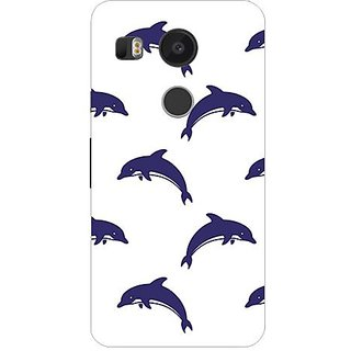 Garmor Designer Silicone Back Cover For Lg Nexus 5X 14276047638