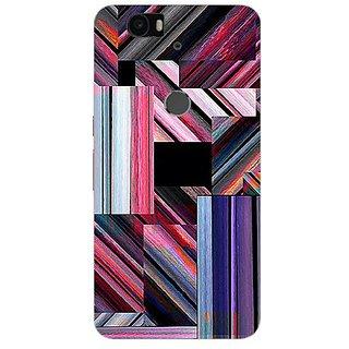 Garmor Designer Silicone Back Cover For Huawei Nexus 6P 14276043807