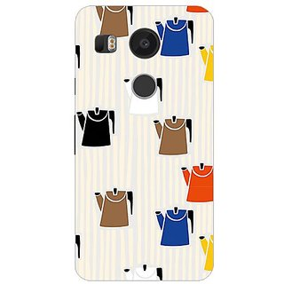 Garmor Designer Silicone Back Cover For Lg Nexus 5X 14276048017