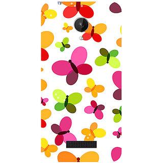 Garmor Designer Silicone Back Cover For Micromax Canvas Spark Q380 786974287998