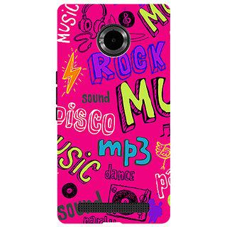 Garmor Designer Silicone Back Cover For Micromax Yu Yuphoria Yu5010 786974290981