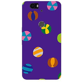 Garmor Designer Silicone Back Cover For Huawei Nexus 6P 14276043074