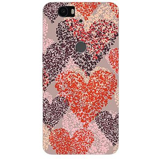 Garmor Designer Silicone Back Cover For Huawei Nexus 6P 14276043333