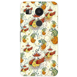 Garmor Designer Silicone Back Cover For Lg Nexus 5X 14276047355