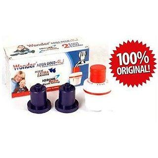 Original Aqua Gold 4U Magnetic Instant Water Purifier iodine resin technology