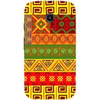 Garmor Designer Silicone Back Cover For Motorola Moto E 786974295092