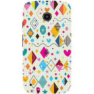 Garmor Designer Silicone Back Cover For Motorola Moto E 786974294491