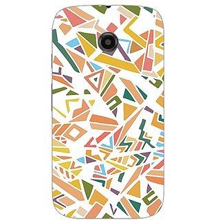 Garmor Designer Silicone Back Cover For Motorola Moto E 608974316303