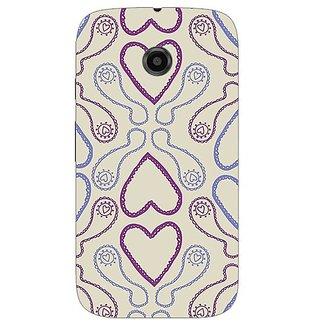 Garmor Designer Silicone Back Cover For Motorola Moto E 38109432484