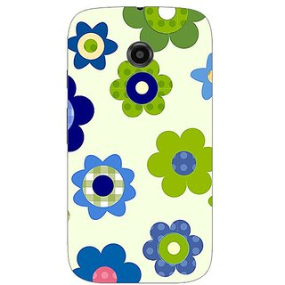 Garmor Designer Silicone Back Cover For Motorola Moto E 38109432354