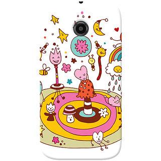 Garmor Designer Silicone Back Cover For Motorola Moto E 6016045798004