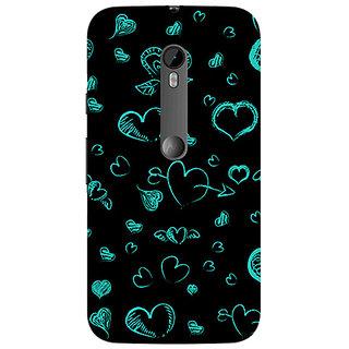Garmor Designer Silicone Back Cover For Motorola Moto G (3Rd Gen) 786974298772
