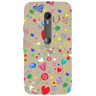 Garmor Designer Silicone Back Cover For Motorola Moto G (3Rd Gen) 786974297249