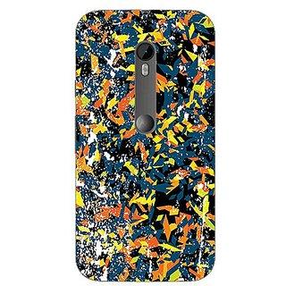 Garmor Designer Silicone Back Cover For Motorola Moto G (3Rd Gen) 608974317782