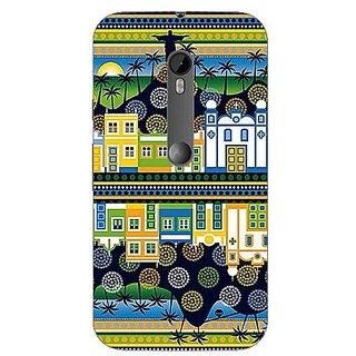 Garmor Designer Silicone Back Cover For Motorola Moto G (3Rd Gen) 608974317072