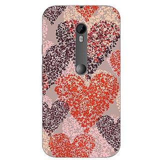 Garmor Designer Silicone Back Cover For Motorola Moto G (3Rd Gen) 38109435430