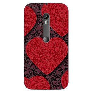 Garmor Designer Silicone Back Cover For Motorola Moto G (3Rd Gen) 38109435379
