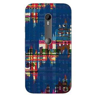 Garmor Designer Silicone Back Cover For Motorola Moto G (3Rd Gen) 38109434150