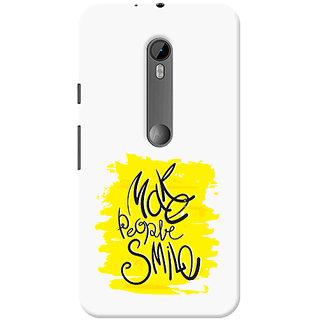 Garmor Designer Silicone Back Cover For Motorola Moto G (3Rd Gen) 6016045826332