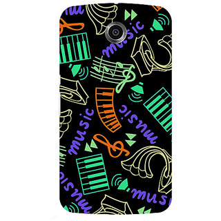 Garmor Designer Silicone Back Cover For Motorola Nexus 6 786974303209
