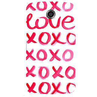 Garmor Designer Silicone Back Cover For Motorola Nexus 6 786974303605