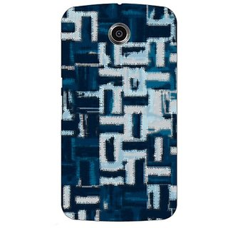 Garmor Designer Silicone Back Cover For Motorola Nexus 6 38109435683