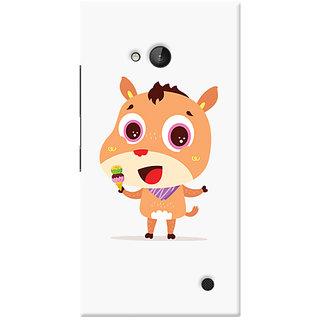Garmor Designer Silicone Back Cover For Nokia Lumia 730 6016045799933